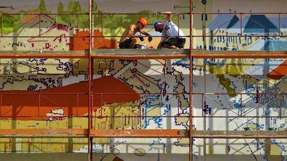 Rėminiai statybiniai pastoliai