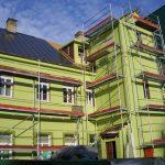 Fasado siltinimas, Fasado renovacija, pastolių nuoma