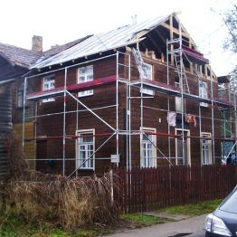 Medinio namo renovaciją