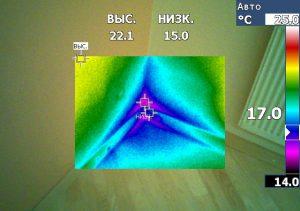 termovizija grindų termonuotrauka