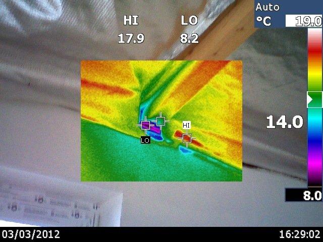 termovizija statybos defektai ir šalčio tiltai