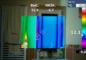vonios termovizinis tyrimas termovizija