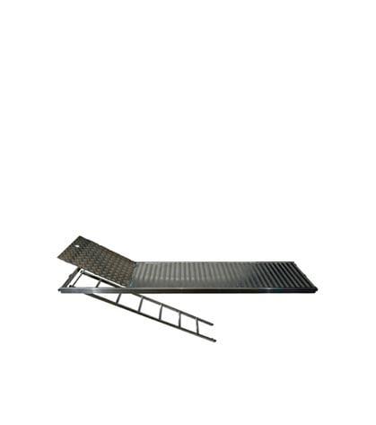 Delta 73 Aliuminio paklotas su kopečiom-3,07m