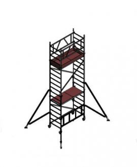 Aliuminio bokštelis ALUBERG HOME HB 5,8