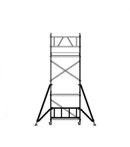 Aliuminio-bokstelis-aliuminiai-boksteliai-pastoliai-ALUBERG-HOME-HB-5,8