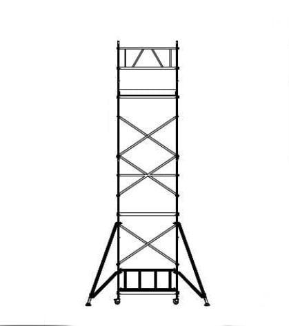 Aliuminio-bokstelis-boksteliai-pastoliai-ALUBERG-HOME-HB-7,5