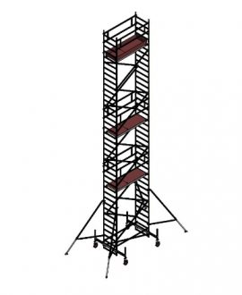 Aliuminio bokštelis Aluberg 770-1200