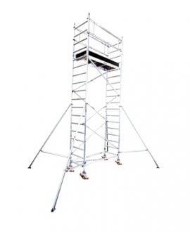 Aliuminio bokštelis Aluberg 770-600