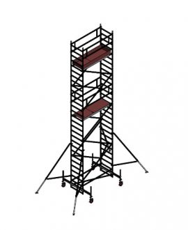 Aliuminio bokštelis Aluberg 770-900