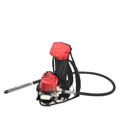 Nesiojamasis benzininis vibratorius-kuprinė ENAR