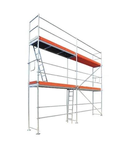 Fasadiniai pastoliai 50,40 m2 (6,00m x 8,40m) S