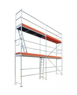 Fasadiniai universalūs pastoliai 62,40 m2 (6,00m-x 10,40m) s