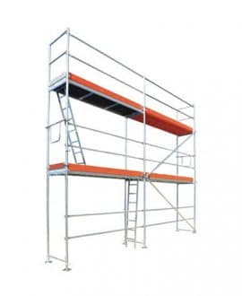 fasadiniai pastoliai 39,60 m2 (9,00m x 4,40m) S mini